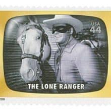 The Lone Ranger 2009 stamp