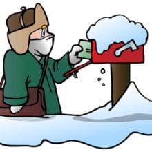 Monday Motivation Sending Snowflake Letters