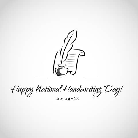 National Handwriting Day 2017