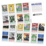 USPSStamps WPA Posters Forever Stamps