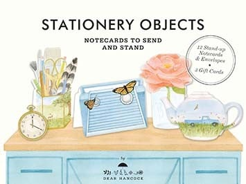 Dear Hancock Stationery Objects Notecards