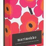 Marimekko 100 Postcards Card Book & Marimekko Unikko Notecards Stationery