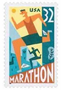 Marathon 1996 USPS Stamp