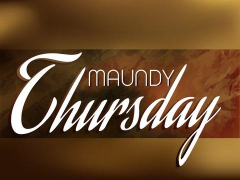 maundy thursday - photo #31
