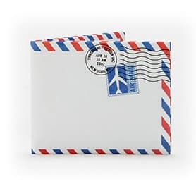 Lighter than Air Mail Mighty Wallet & Passport Case