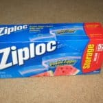Ziploc Letter Writing Organization Approach