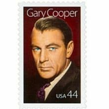 Gary Cooper 2009 Legends of Hollywood stamp