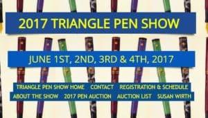 Triangle Pen Show 2017