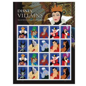 USPS Disney Villains Stamps