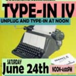 Celebrating Vintage Typewriter TypeIn & More REH