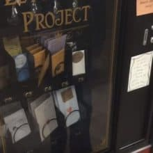 The Letter Box Project Vending Machine