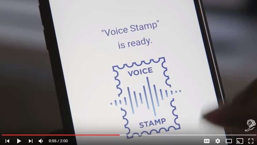 USPS Voice Stamp Project – Your Voice is Your Stamp