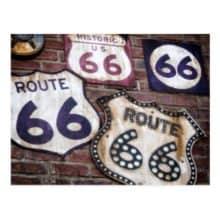 Route 66 PostmarkArt & June 2017 AnchoredScraps Daily Blog Recap