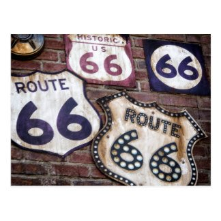 Route 66 PostmarkArt & June 2017 AnchoredScraps Daily Blog Recap