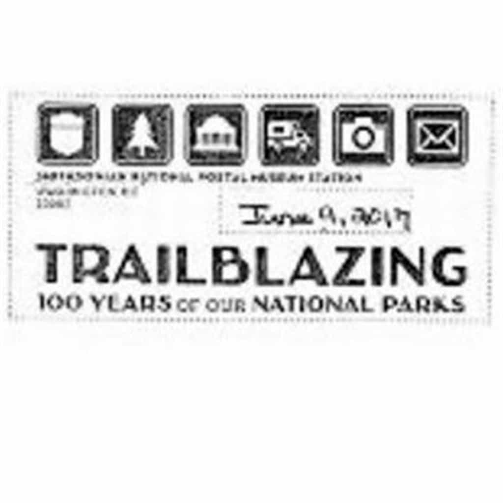 National Parks Trailblazing Pictorial Postmark