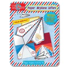 Sending Paper Airplane Letters Activity Tin