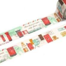 Mailbox Washi Tape Letter Writing Embellishments