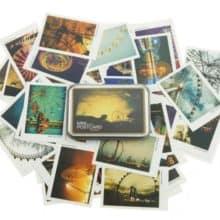 Ferris Wheel Vintage MINI Postcards Bookmarks