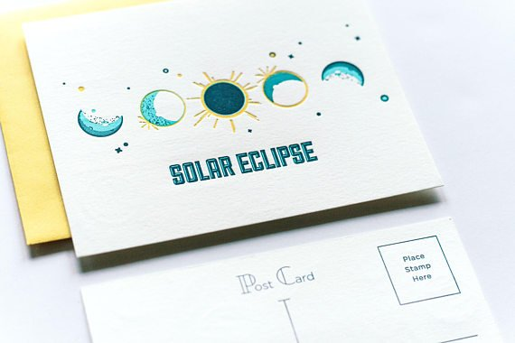Solar Eclipse Post Cards & Instructables Make Your Own Viewer