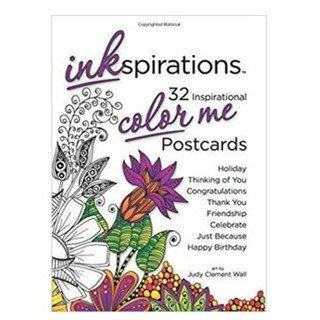 Inkspirations Color Me Postcards