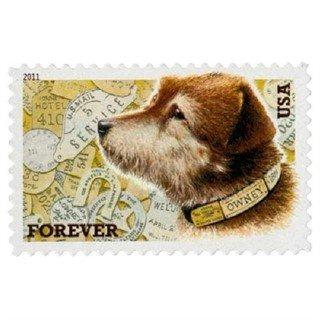 Owney Postal DogForever Stamp