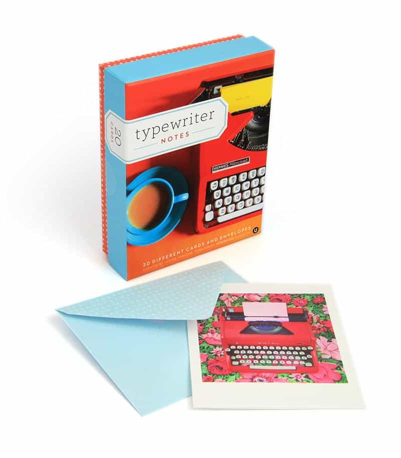 Uppercase Magazine Typewriter Notes Stationery
