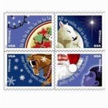 usps 2017 christmas carols forever stamps