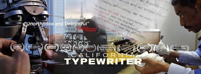 California Typewriter movie with Tom Hanks & The Typosphere