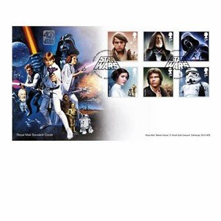 PreOrdering Royal Mail 2017 40th Anniversary Star Wars Stamps