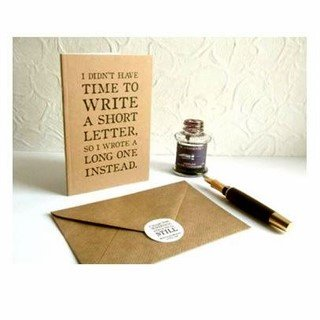 Twain Quote Notebook Long Letter Journal