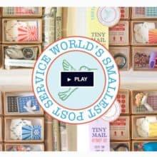 World's Smallest Post Service Kit Kickstarter