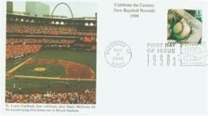 #3191a 2000 33c New Baseball Records Mystic First Day Cover