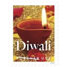 Festival of Diwali Forever 2016 Stamp