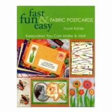 Fabric Postcards Keepsakes You Can Make & Mail