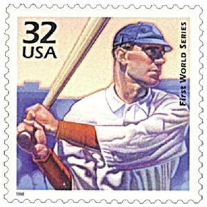 First World Series 1998 Stamp