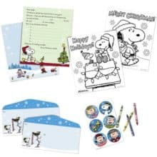New Peanuts Letters to Santa Kit at USPS Store