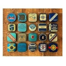 Collecting Vintage Typewriter Ribbon Tins