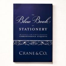Blue Book of Stationery by Crane & Co