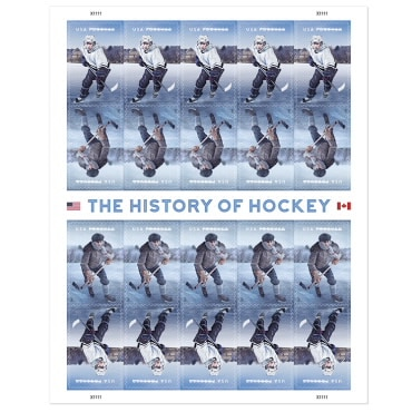 The History of Hockey New Forever Stamp