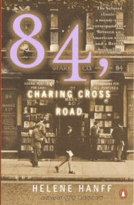 84, Charing Cross Road by Helene Hanff book cover