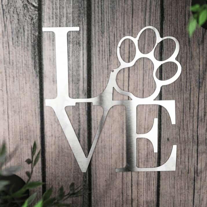 Inspired Postal theme Dog Love