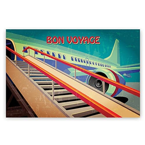 New Retro Style Vintage Travel Posters postcards