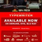 One Thousand and One & California Typewriter Movie Available Options