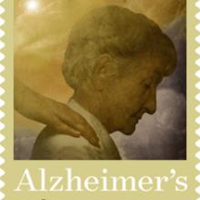 Alzheimer Upcoming Semipostal Fundraising Stamp & #Blogchat Tonight!