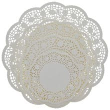 Wrapping Up Christmas Dazzling Dollar Doilies
