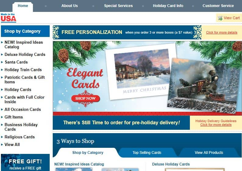 National Railroad Museum Holiday Card Center ...
