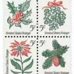 1964 Christmas 5¢ Stamps