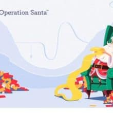 USPS Operation Santa Ringing Nasdaq Closing Bell Today
