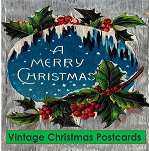 Vintage Christmas Postcards book
