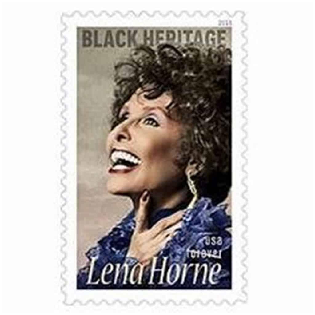USPS Lena Horne Forever Stamp Debuts Today